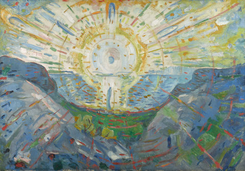 Die Sonne, 1912, Öl auf Leinwand. Foto: (c) Kunstsammlung NRW