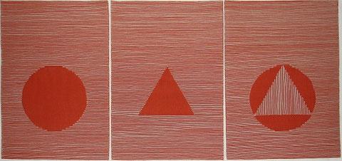 Form und Farbe 63 x 135 cm