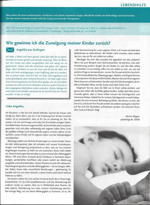 Artikel über Familienberatung