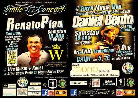 Renato Piau en concert à Stuttgart