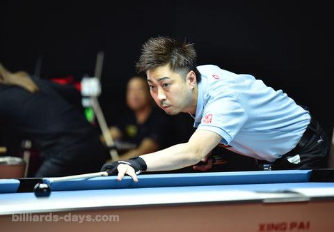大井直幸 ※写真は2018 China Open
