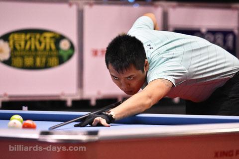 優勝:張榮麟 ※写真は2018 China Open