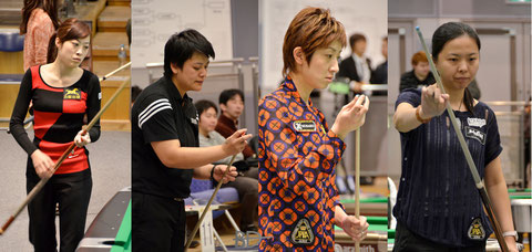 2012 All Japan Championship, Women's Division Top 4