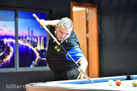 Chris Melling ※写真は2018 China Openにて