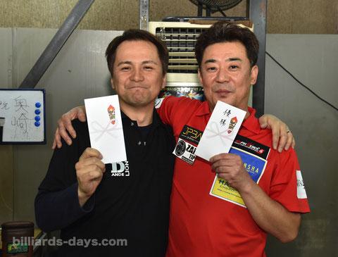 GPE-7東北予選ファイナリスト:千葉達(右)が通過、奥崎誠アマ(左)が2位