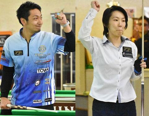 Toru Kuribayashi & Chihiro Kawahara won 2018 Kansai Open in Osaka.