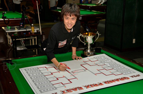 Hayato Hijikata won JPBA Grand Prix East stop #6