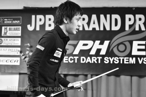 Hayato Hijikata won 2016 JPBA Grand Prix East stop#3