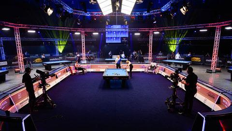 © Matchroom Pool 2021  ↑2021年世界選手権(イギリス)