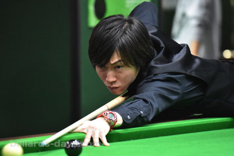 Hiroyuki Mizushita won 2016 Snooker Japan Open, Tokyo 優勝:水下広之