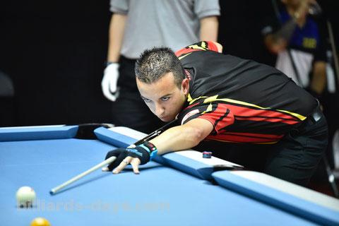 David Alcaide ※写真は2018 China Openより