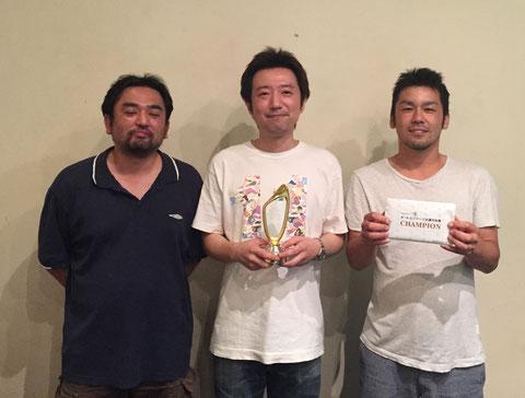 優勝のJACK川崎店チーム