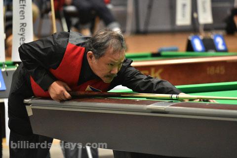 Efren Reyes  ※写真は2017年全日本選手権にて