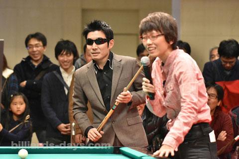 Hideaki Arita & Masami Nouchi