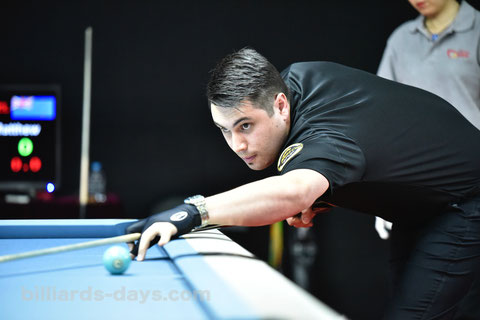P&BオーナーのMatt Edwards ※2018 China Openにて