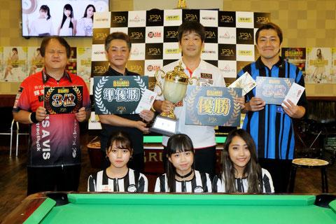 Satoshi Kawabata (r2) won JPBA Grand Prix West stop#5 in Kyoto.