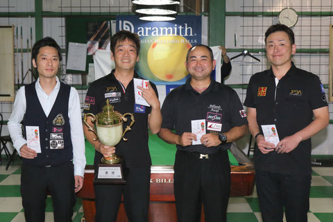 Satoshi Kawabata won JPBA Grand Prix West stop#5 in Osaka.