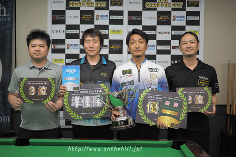 Toru Kuribayashi won JPBA Grand Prix East stop#5 in Chiba, Japan Photo :  On the hill !