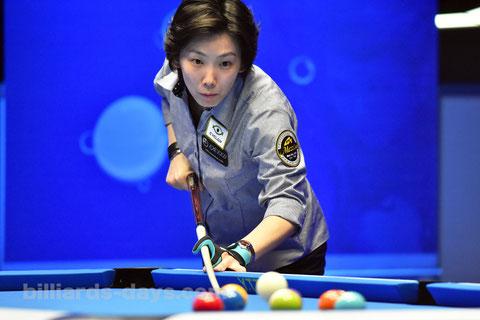 Chihiro Kawahara won 3rd Prize of 2016 Amway 9-ball Championship