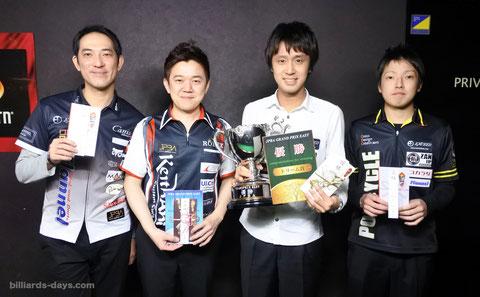 Hayato Hijikata (r2) won JPBA Grand prix 2016 stop #1