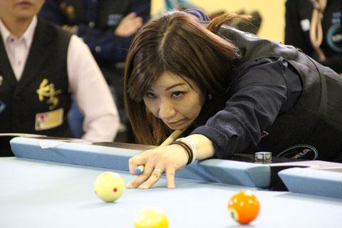 昨年の女流東日本代表・野間多美子 写真:JAPA