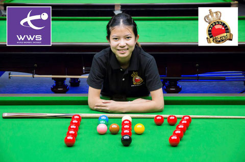 Nutcharut Wongharuthai photo courtesy of World Women's Snooker