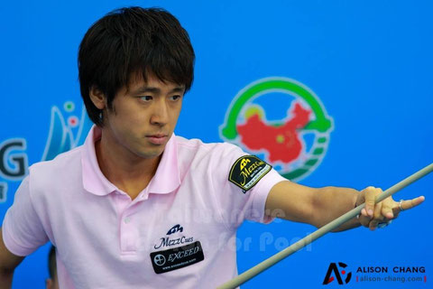 Hayato Hijikata, photo courtesy of Taiwanese Passion for Pool