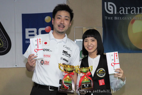 Naoyuki Oi & Yuki Hiraguchi won 2018 Tokai Grand Prix, Japan photo :  On the hill !