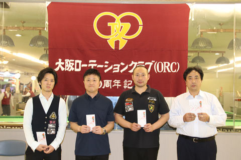 優勝の清川正士は左2 Photo :  JAPA(以下全て)