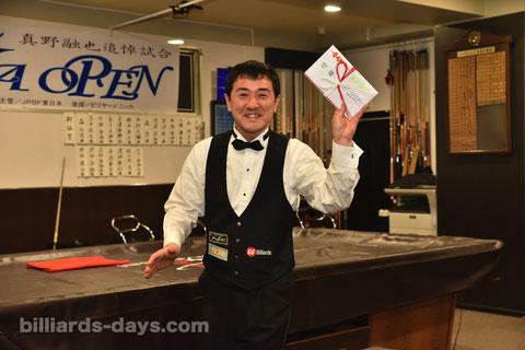 Ryuji Umeda won 2019 NIKKA Open in Tokyo.