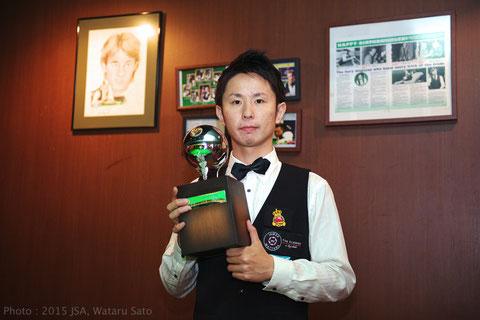2015 Winner Tetsuya Kuwata 桑田哲也