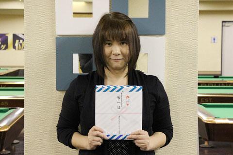 女流球聖西日本代表:妹尾恵子(大阪)