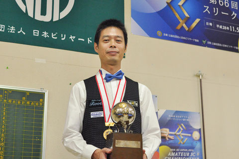 優勝:本松良 Photo : Syota Oikawa