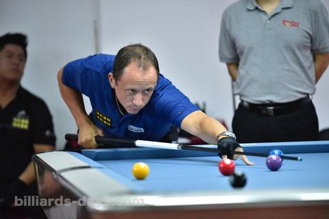 Shane Van Boening ※写真は2018 China Open
