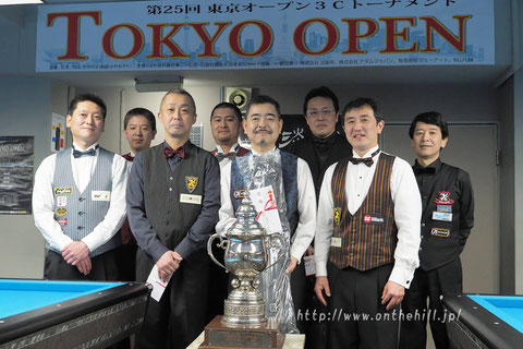 George Kai won 2019 Tokyo Open photo :  On the hill !