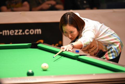 Miyuki Kuribayashi ※写真は2019 Japan Openより