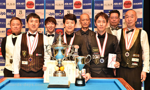 2018 prize winners of All Japan 3C.