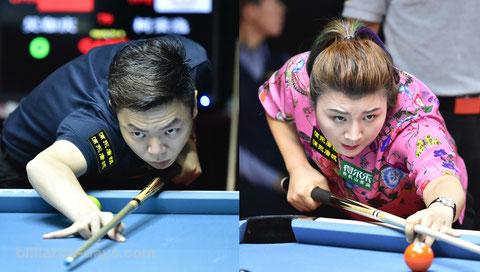 呉珈慶と付小芳 ※写真は2018 China Openにて
