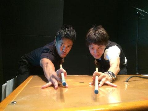 So Takei & Hayato Hijikata 写真:土方隼斗