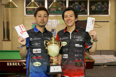 Naoyuki Oi  (left) won 2016 Grand Prix West 2016 stop#5 in Kyoto