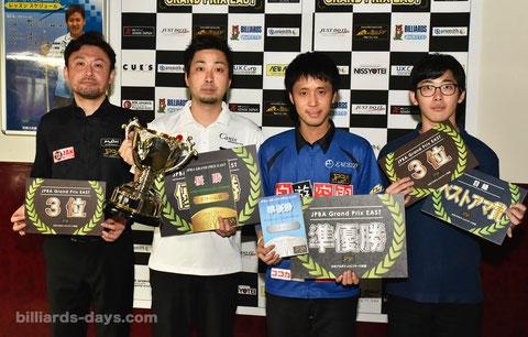 Naoyuki Oi (l2) won 2018 JPBA Grand Prix East stop#3.