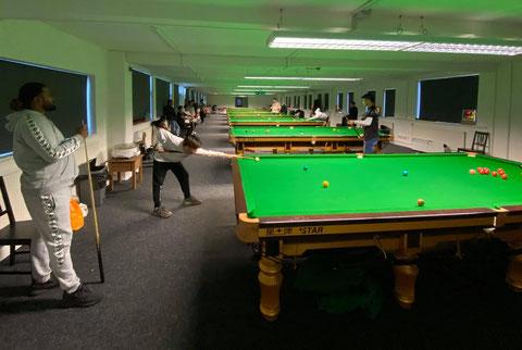 Q House Snooker Academy ※画像提供:本人