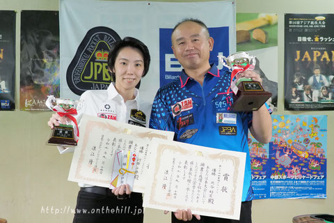 Yoshihiro Kitatani & Chihiro Kawahara won 2019 Tokai Grand Prix.