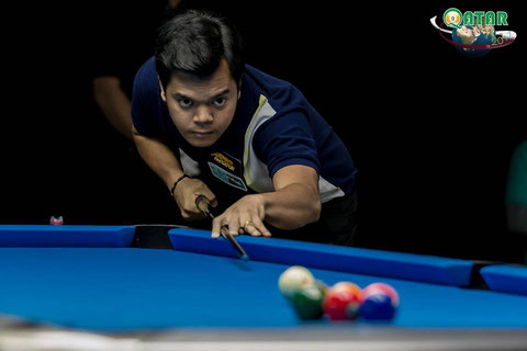 2017 World 9-ball Champion : Carlo Biado