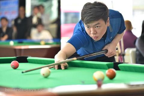 Wu Jia-Qing plays at Hokkaido Open in Sapporo, Japan