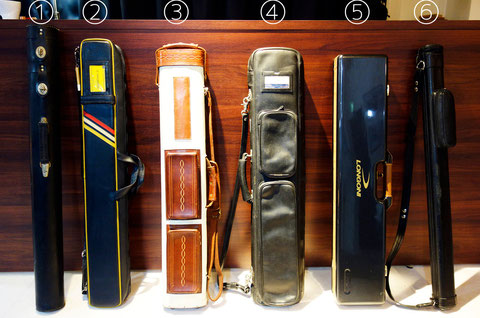 O Takeshima's cue case collection, part 1