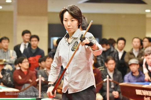 Chihiro Kawahara.  FLEXSCHE Cup 2015