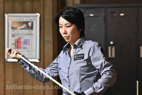 Chihiro Kawahara ※4月の『全日本女子プロツアー第2戦』にて