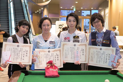 Miyuki Kuribayashi  (l2) won 2018 Kyushu Ladies Open  Photo:On the hill !