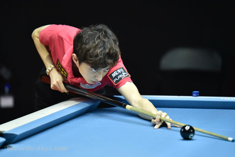2位:柯乗中 ※写真は2018 China Open